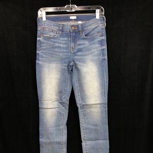 J.CREW Ankle Jeans Stretch Davidson Medium Wash 26